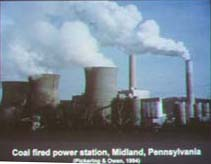 Coal Fired Power Station Plume